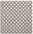 rug #637573 | square white check rug