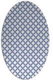 rug #637619   oval check rug