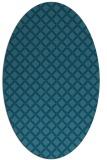 rug #637627   oval check rug