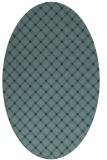 rug #637652   oval check rug