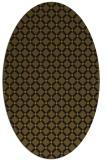 rug #637696   oval check rug