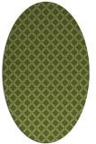 rug #637702   oval check rug