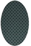 rug #637707   oval check rug