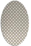 rug #637719 | oval check rug