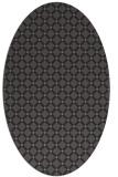 rug #637726   oval check rug