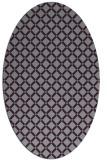 rug #637815 | oval check rug