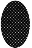 rug #637849 | oval white geometry rug