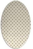 rug #637871   oval check rug
