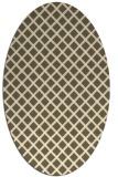 rug #637872   oval check rug