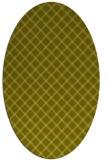 rug #637898   oval check rug