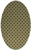 rug #637910 | oval check rug