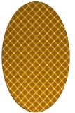 rug #637916 | oval check rug