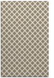 rug #637929 |  beige check rug