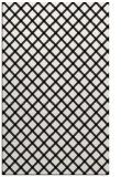 rug #637933 |  white check rug