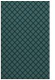 rug #637961 |  blue check rug