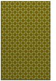 rug #637989    blue-green check rug