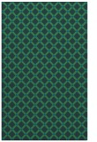 rug #638009 |  blue check rug