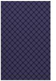 rug #638013 |  blue-violet check rug