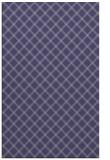 rug #638017 |  blue-violet check rug