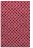 rug #638021 |  pink check rug