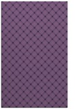 rug #638025 |  purple check rug