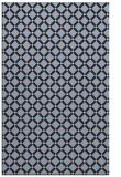 rug #638041 |  blue-violet check rug