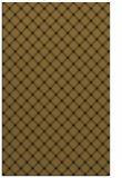 rug #638045 |  mid-brown check rug