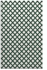 rug #638061 |  blue-green check rug