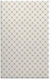 rug #638069 |  white check rug
