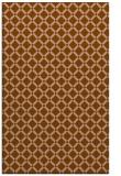 rug #638073 |  mid-brown check rug