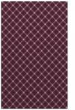 rug #638085 |  pink check rug