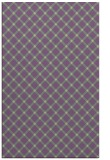 rug #638109 |  purple check rug