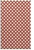 rug #638121 |  orange check rug