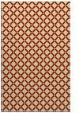 rug #638125 |  beige check rug
