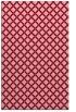 rug #638145 |  pink check rug