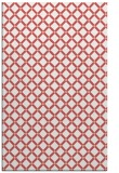 rug #638149 |  pink check rug