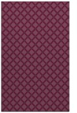 rug #638153 |  purple check rug