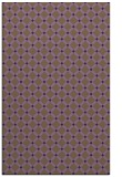 rug #638161 |  purple check rug