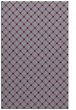 rug #638165 |  purple check rug