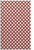 rug #638177 |  red check rug