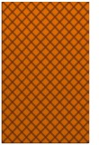 rug #638185 |  red-orange check rug