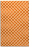 rug #638189 |  red-orange check rug