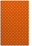 rug #638197 |  red-orange check rug