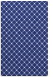 rug #638209 |  blue check rug