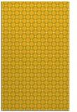rug #638217 |  yellow check rug
