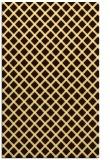 rug #638225 |  brown check rug