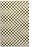 rug #638237 |  black check rug