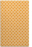 rug #638273 |  light-orange check rug