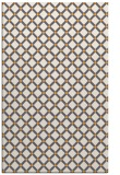 rug #638277 |  light-orange check rug