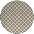 rug #638281 | round white check rug